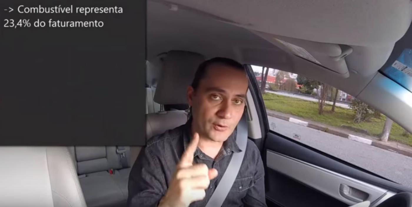 Motorista Do Uber Revela Seus Ganhos E Despesas (e Vídeo
