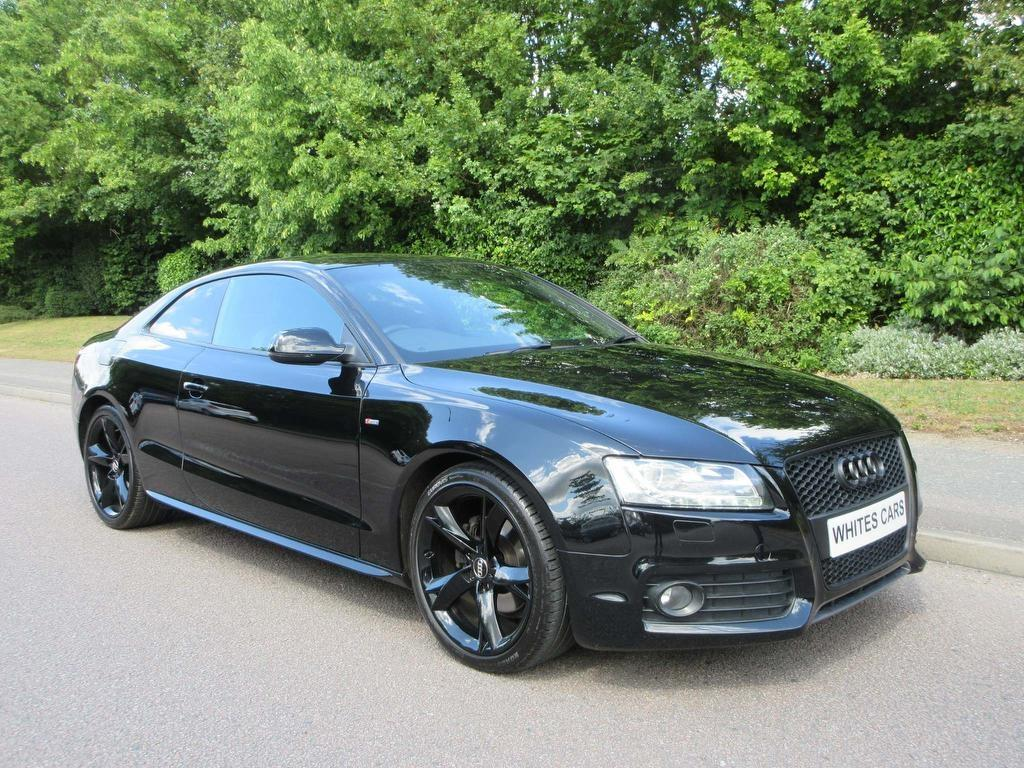 hight resolution of make audi model a5 colour black year 2010