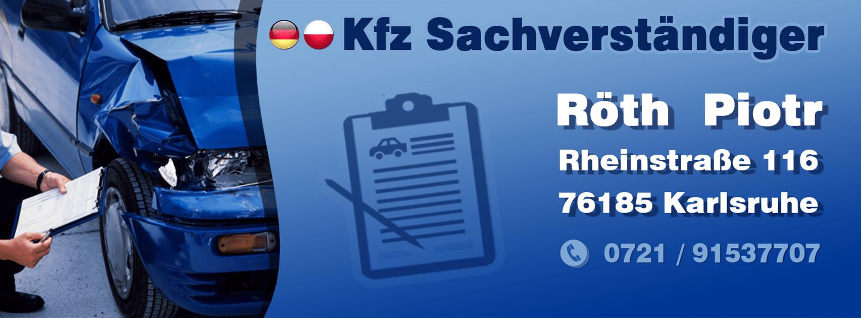 Kfz-Sachverständiger Karlsruhe