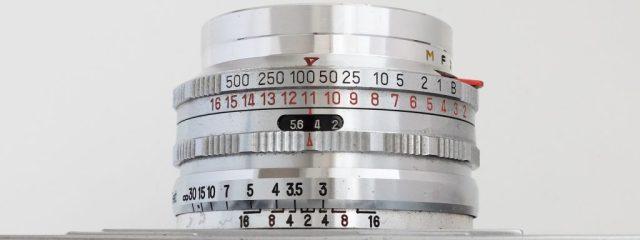 Richo35 Deuxe L Lens barrel