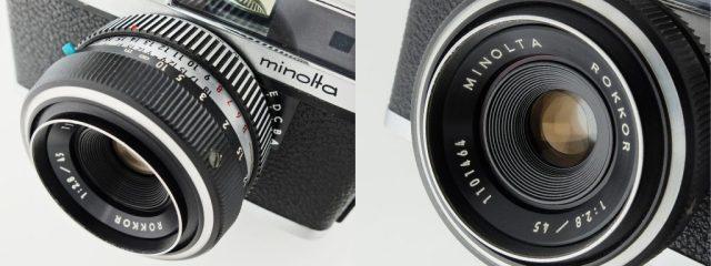 minolta Uniomat rokkor 45mm f2.8