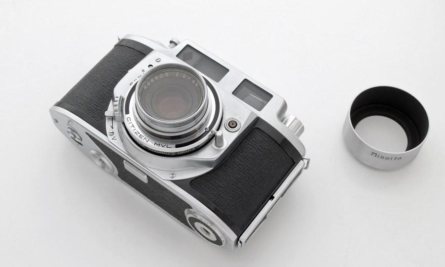 Minolta A-2 Lens Filter - Hood