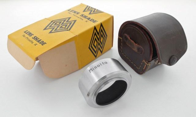 Lens Shade for Minolta A_ BOX_CASE