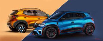 Renault Kwid concept duo