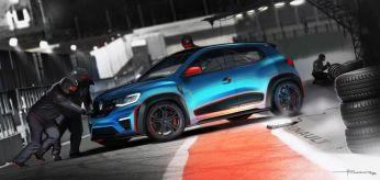 Renault Kwid Racer pit