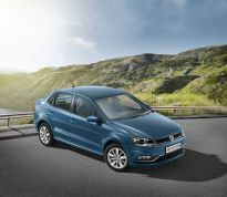 Volkswagen Ameo front three quarters outside