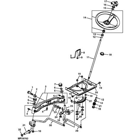 How to Repair John Deere Steering Diagram