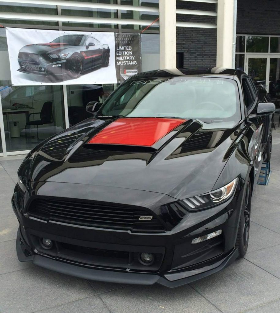 the 2015 roush warrior