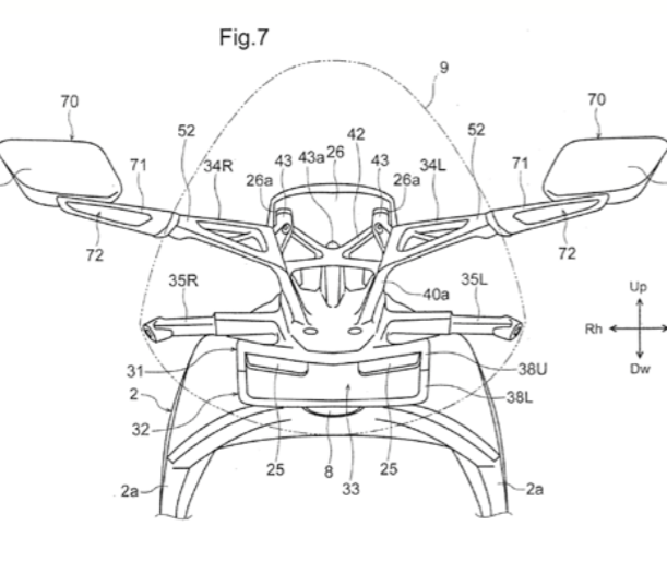 The Upcoming Honda V4 Superbike: Patent Clues And What To
