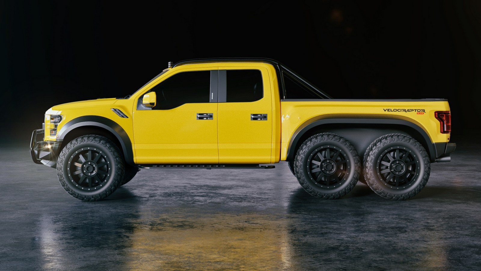 hight resolution of the velociraptor is hennessey s stab at custom trucks