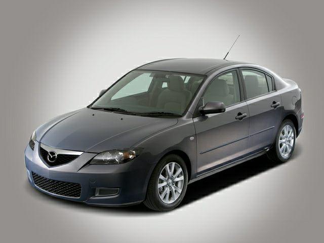 2007 Mazda Mazda 3 front side view