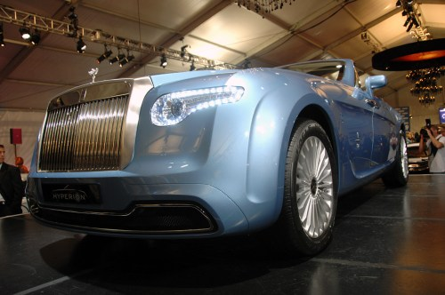 small resolution of pininfarina hyperion rolls royce unveiled photo