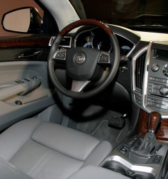 new 2010 cadillac srx officially revealed photo video cadillac srx 2010 live presentation interior img 6 [ 1280 x 853 Pixel ]