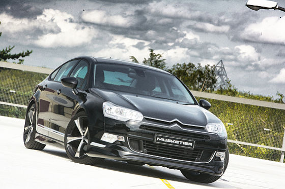 citroen c5 tuned by musketier it s your auto world new cars auto news reviews photos. Black Bedroom Furniture Sets. Home Design Ideas