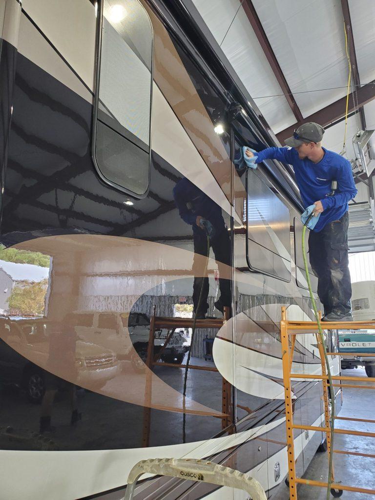 Ceramic Pro RV Wilmington NC AutoworX RV Detailing