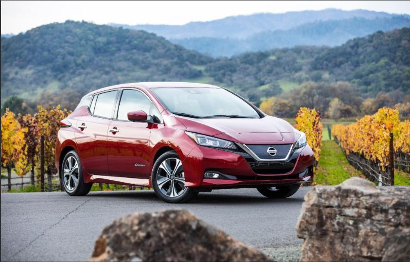 Future styling, today's Nissan Leaf