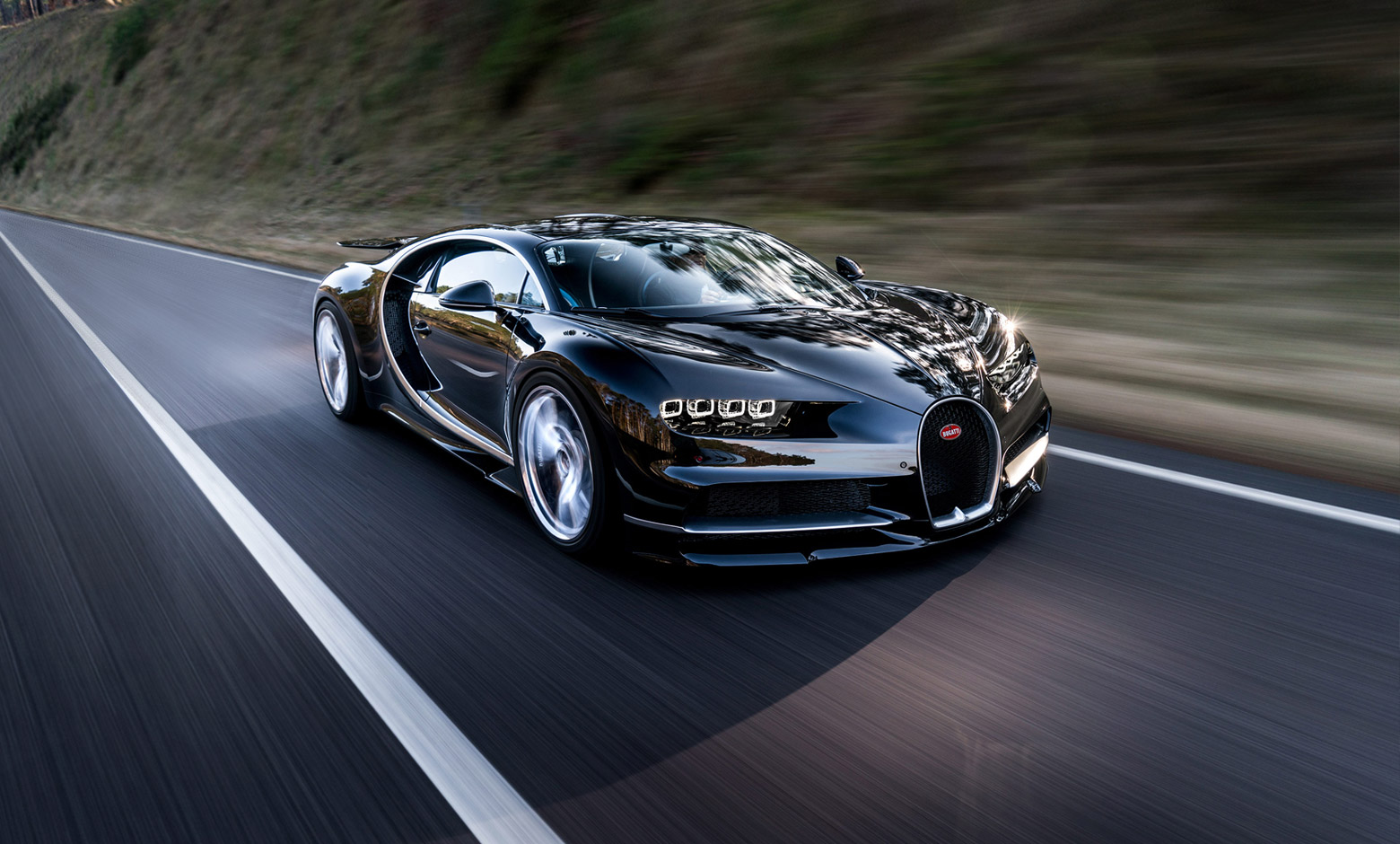 10 most powerful cars in the world - Bugatti Chiron
