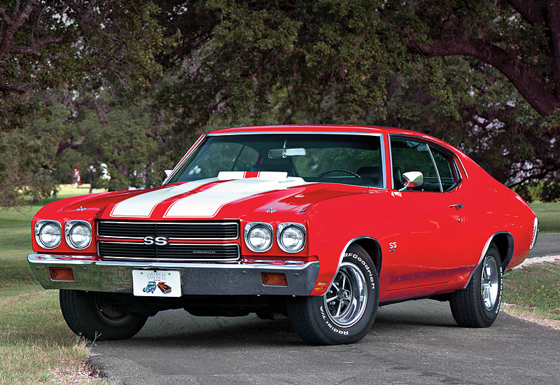 1970 Chevrolet Chevelle SS 454 LS6 Hardtop Coupe