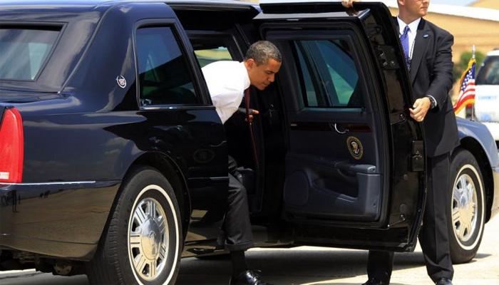 سيارة الرئاسة الامريكية