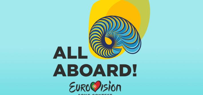 Logo Principal de l'eurovision 2018
