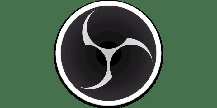 Logo OBS logiciel de stream