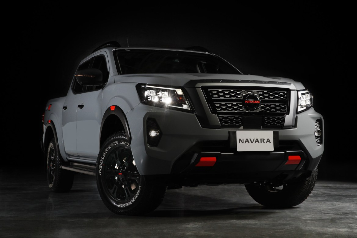 Nissan frontier 2021 frontal