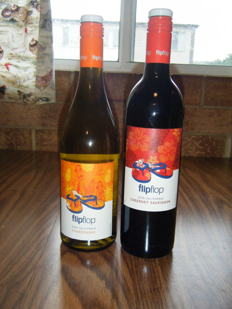 [review] flip flop wines Cabernet Sauvignon and Chardonnay