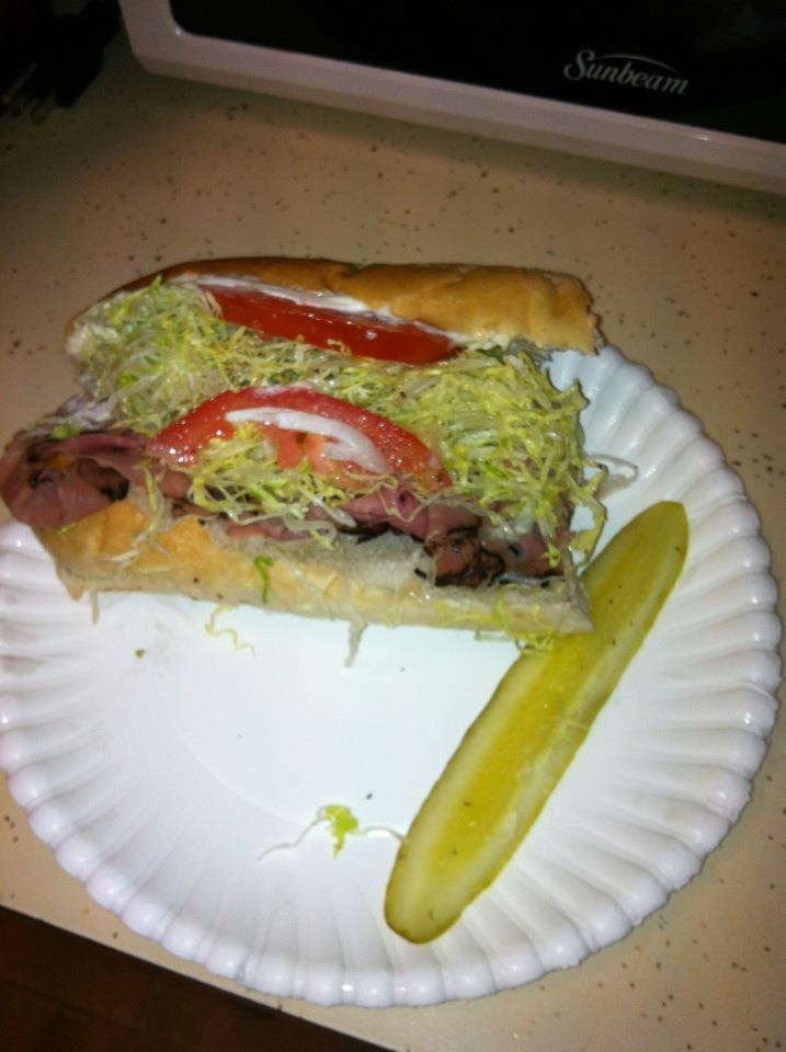 Wordless Wed: The Nommiest Sub in the south!