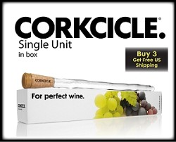 Review: Corkcicle (Neat way to get your wine cool!)