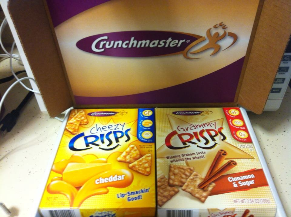 Review:CrunchMaster Crisps (Gluten and Peanut Free!)