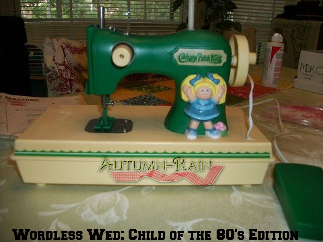 Wordless Wed Child of the 80's Edition