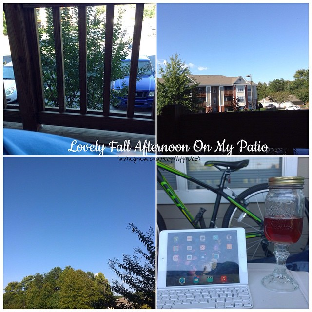 Wordless Wed: Fall Afternoon on the Patio