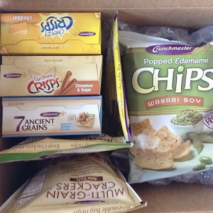 Review: Crunchmaster Snacks Box of Goodies