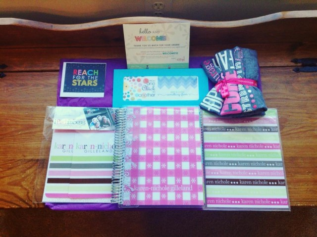 Review: Erin Condren Lifestyle Planner & Other Assorted Goodies!