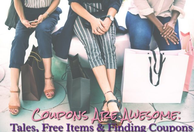 Coupons Are Awesome: Tales, Free Items and Finding Coupons #sponsored