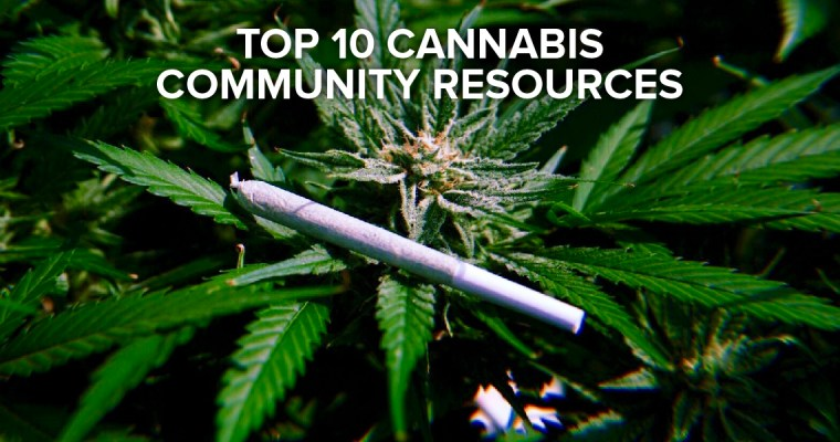 Top 10 Cannabis Community Resources