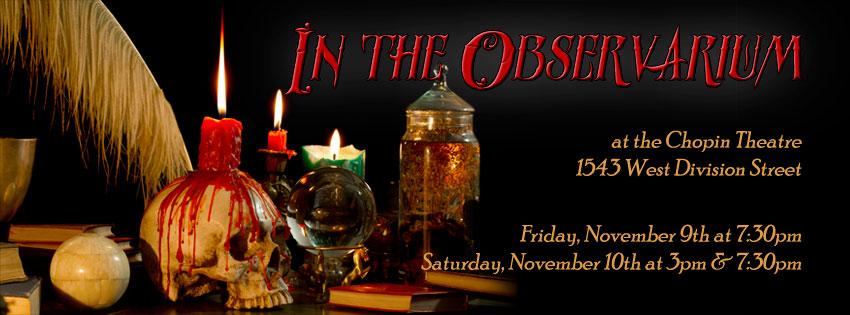 In The Observarium: Facebook Cover