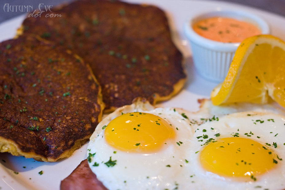 Over Easy Café: El Gordito's Corn Cakes