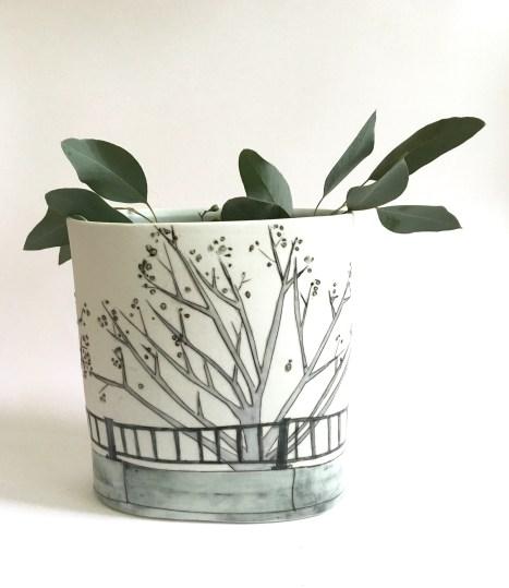 spring tree vase