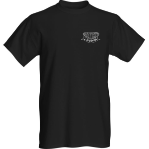 Breast logo - short sleeve - black