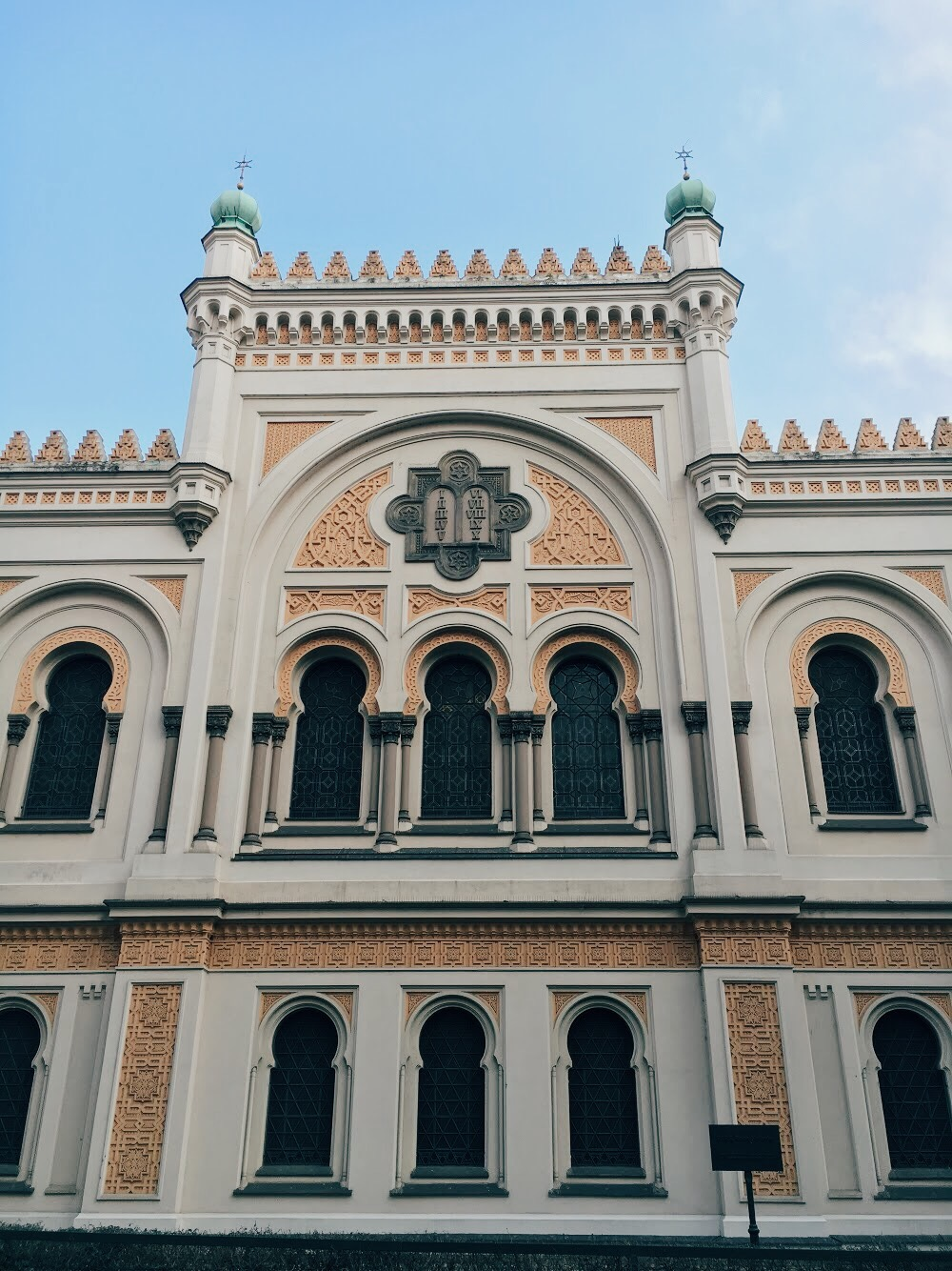 Prague Jewish Quarter, Josefov Spanish Synagogue