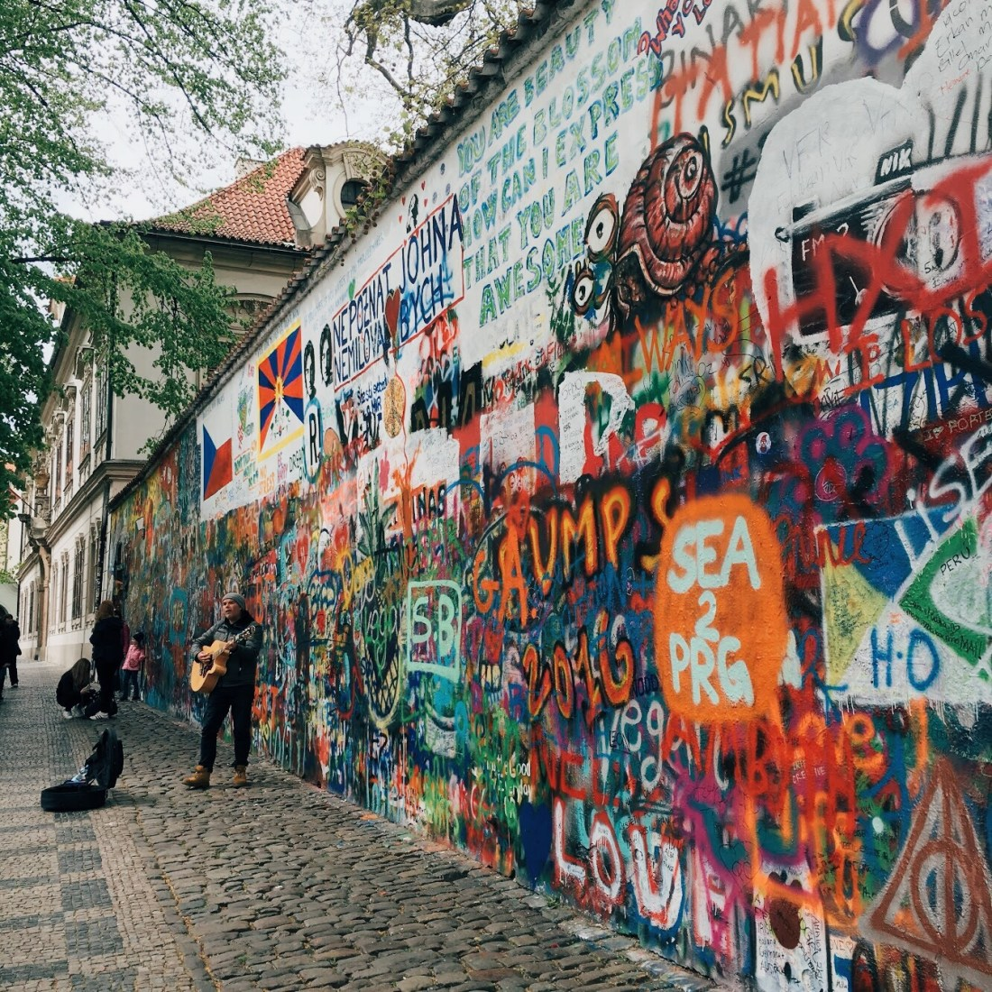 Things to do in Prague: John Lennon Wall