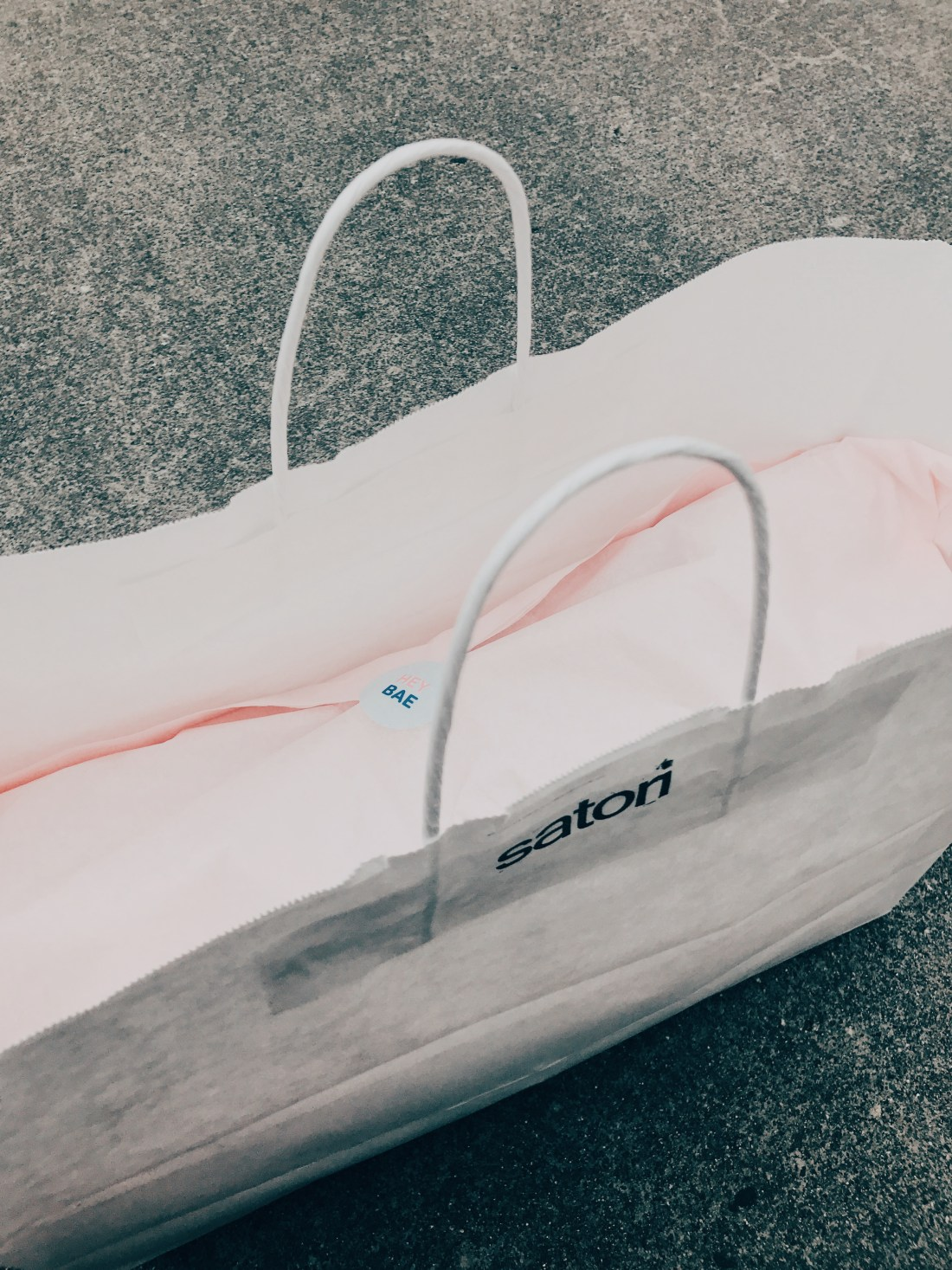 Satori boutique purchase packaging example
