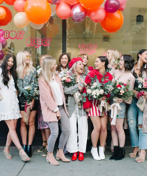 Galentines Brunch | Emily Elizabeth Events | Blue Rose Pictures