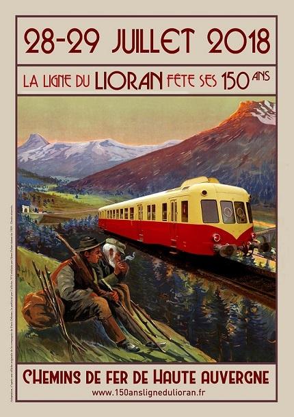 150ÈME ANNIVERSAIRE DE LA LIGNE FERROVIAIRE DU LIORAN