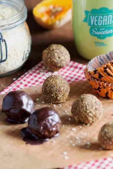 Pumpkin Balls vegan - by Au Vert avec Lili