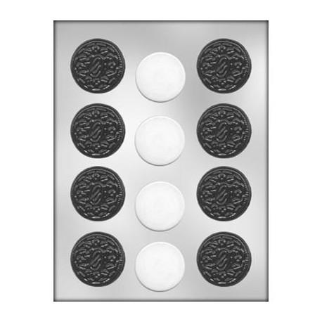 moule a chocolat biscuit a la creme