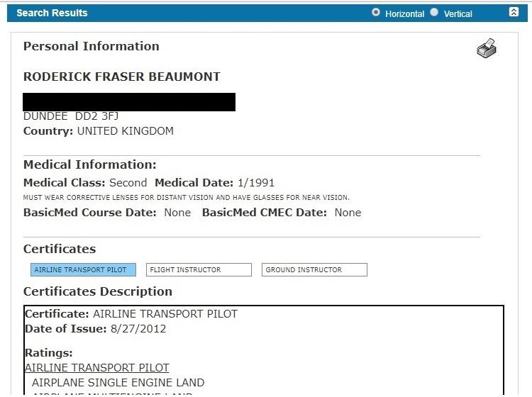Rod Beau is an alias of Roderick Beaumont