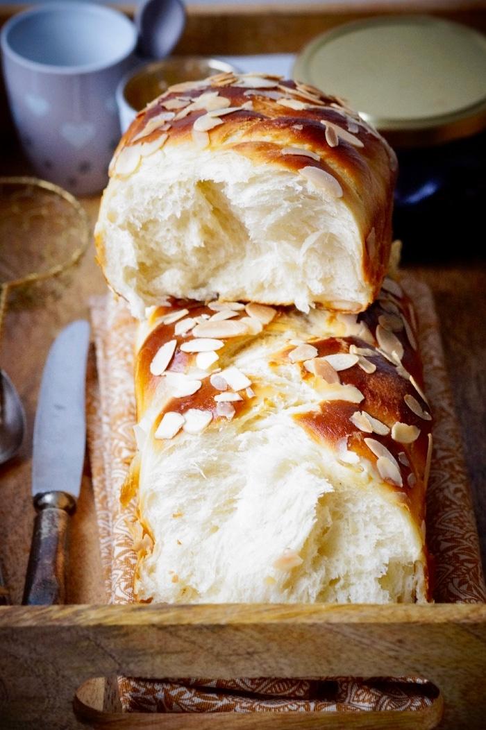 Brioche Ultra moelleuse au fromage Blanc - La cuisine de