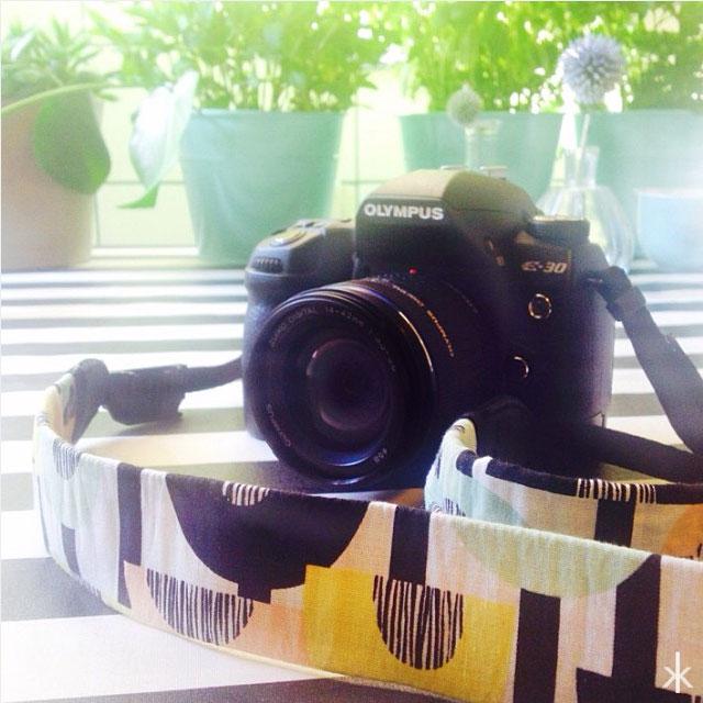 Olympus DIY Kameragurt im Retrolook